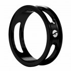 Mountain Bike Front Fork Washer Road Bike Headset Washer Aluminum Alloy CNC Hollow Highten Ring black