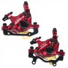 Mountain Road Bikes Hydraulic Brake Clip Brake Hydraulic Wire Puller HB100  Red front and back 1pair