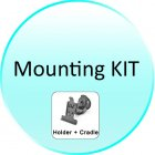 Mounting KIT for CVLA CS39 5 Inch Touchscreen GPS w FM Transmitter and Bluetooth   Camera