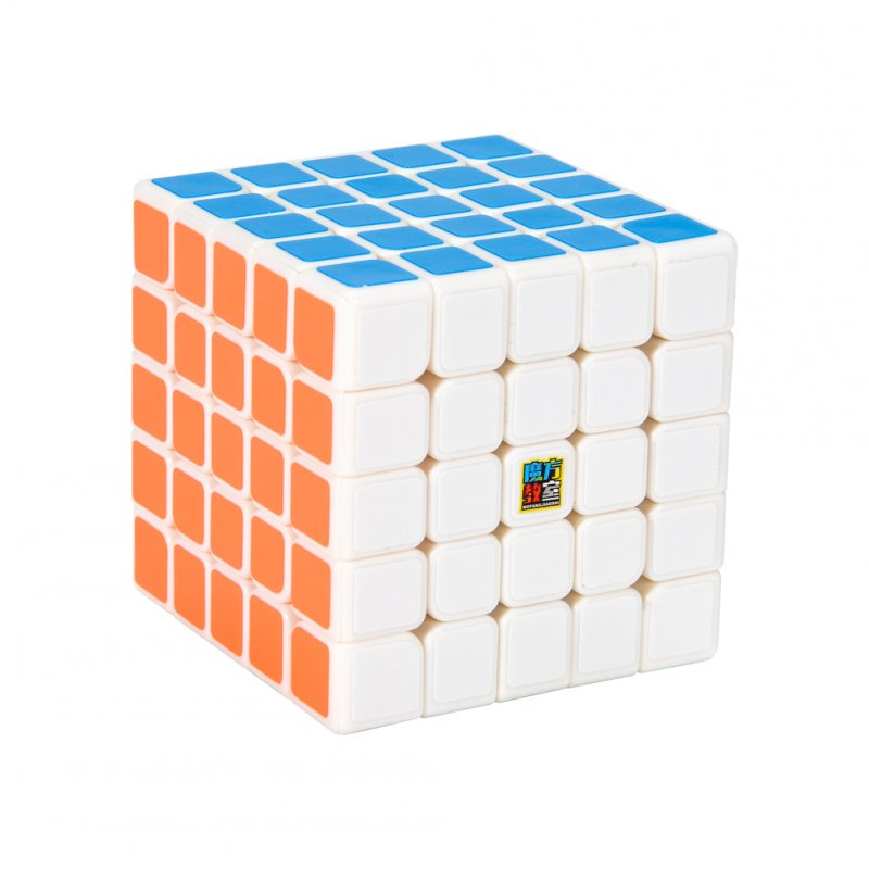 [US Direct] Moyu's Rubik's Cube Classroom MF5 fifth-order Rubik's Cube parent product white