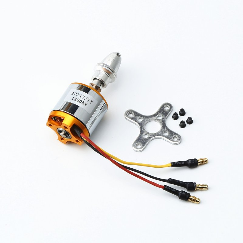 Multi Quadcopter A2217 2217 1100KV 1250KV 2300KV RC Brushless Outrunner Motor for 4 Axis UFO RC Fixed Wing Plane Helicopter