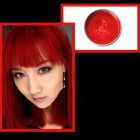 Multicolor Disposable Hair Color Wax Dye One-time Molding Paste Hair Dye Wax Mud Cream red