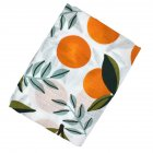 Multifunctinal Infant Double Layer Muslin Swaddle Bath Towel orange 120 120cm