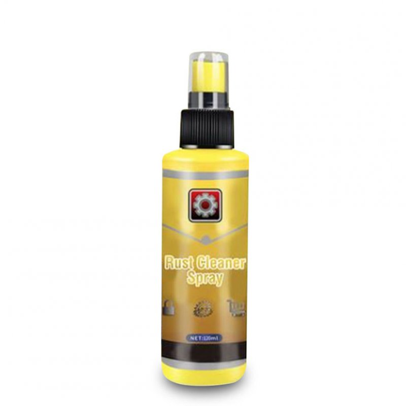Multifunction Kitchen Rust Cleaner Spray Derusting Car Maintenance Cleaning Rust Remover 2. Yellow 100ml
