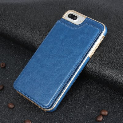 Magnetic Leather Cover for iPhone