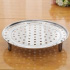 Multifunction Stainless Steel Steamer Plate for Steamed Bun 20# diameter 19.5cm