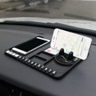 Multifunctional Car Anti-Slip Mat Auto Phone Holder Silicone Car Pad Mat black