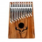 Muspor Double Layer 20 Keys Kalimba with Tuning Hammer Carton Packing  20 sounds