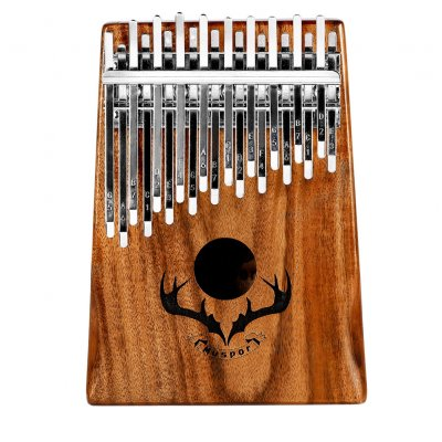 Muspor Double Layer 20 Keys Kalimba with Tuning Hammer(Carton Packing) 20 sounds