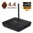 MyGica ATV582 Android 4 4 TV Box supports UHD  4Kx2K  as well as featuring an AMLogic M8 ARM CORTEX A9 2GHz Quad Core CPU  600MHz Octa ARM Mali 450 GPU and XBMC