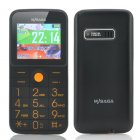 MySaga D1 Quad Band Phone has been designed for Senior Citizens as it has Dual SIM slots  FM Radio and a LED Flashlight built in