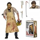 NECA Texas Chainsaw Massacre Leatherface 7  Action Figure 40th Anniversary Doll