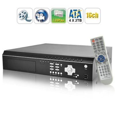 16 Channel DVR Security System