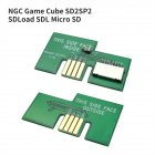 NGC Game Cube SD2SP2 SDLoad SDL Micro SD Card TF Card Reader for Nintendo Gamecube NGC Serial Port green