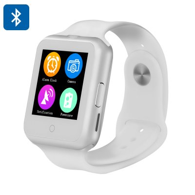NO.1 D3 Smart Watch Phone (White)