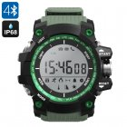 NO.1 F2 Outdoor Bluetooth Watch (Green)