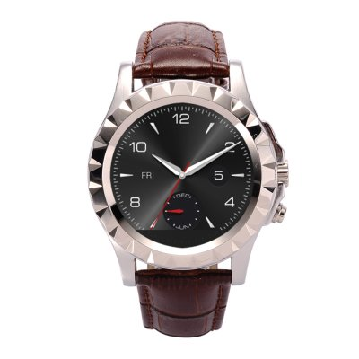 NO.1 S2 IP67 Smart Watch Leather (Silver)