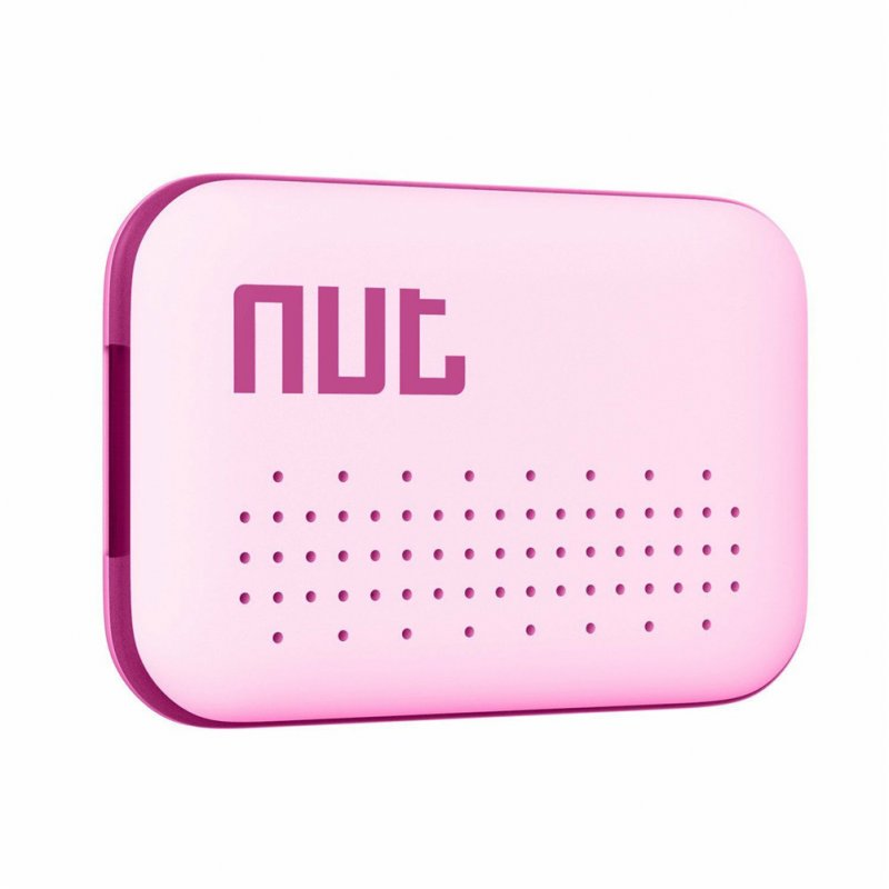 NUT Mini Bluetooth 4.0 Smart Finder Anti-lost Wireless Tracker Low Power for Key Mobile Phone pink