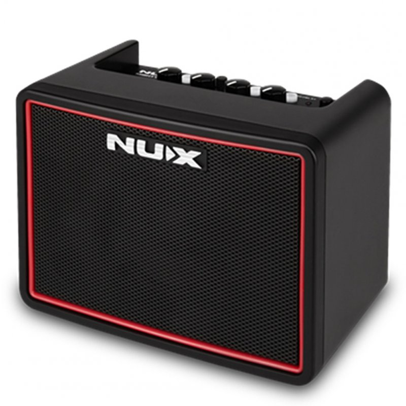 NUX Mighty Lite BT Mini Desktop Guitar Amplifier Speaker Portable Multifunction Guitar AMP with Drum Machine  EU plug