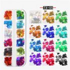 Nail Art Sequins Maple leaf butterfly alphabet flame Geometric Sequins DIY Decoration Star sequin TX-05