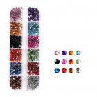 Nail Glitter Art Decorations Crystal Sequins for UV Nail Polish Nail Jewelry  Normal specifications