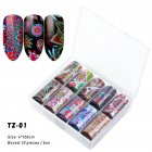 Nail Star Sticker Set DIY Nail Sticker Nail Starry Sky Art Decoration Stickers Star Paper TZ01_Pack of 10 4cm * 120cm