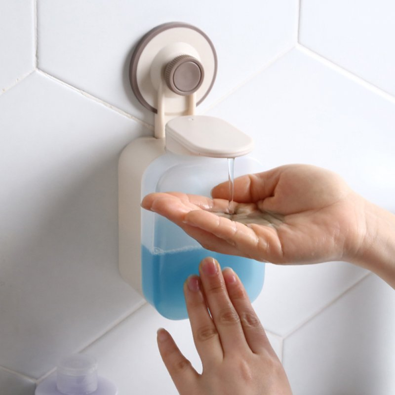 Nailing Free Soap Dispenser Wall Mount Shower Liquid Containers for Bathroom Kitchen As shown