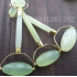 Natural Jade Beauty Massage Roller Push Facial Jade Face Eye Neck Manual Massager Promote Blood Circulation