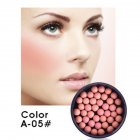 Natural Long-lasting Blush Palette Face Foundation Pearls Shape Blush Charming Color Beauty Tools
