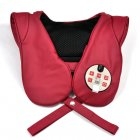 Neck and shoulder massager syncing with your music to deliver a rhythmic and relaxing massage
