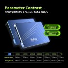 Netac N600S 2.5 inch SSD Hard Disk TLC Internal Solid State Drive  720GB
