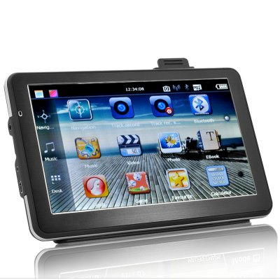 Portable Car SatNav with DVR