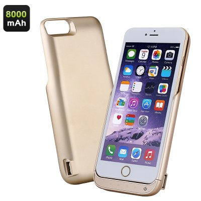 iPhone Battery Case (Gold)