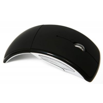 2.4ghz Wireless Foldable Arc Optical Mouse