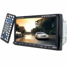 New Car DVD Player with motorized 7 Inch adjustable touch screen  compatibility with many digital formats and disks  a built in TV tuner  and ipod control