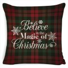 New Christmas Pillowcase Pillow Cover Cushion Cover Home Nordic Style Linen Pillow Case A6_45*45cm pillowcase