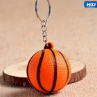 New Fashion Sports Keychain Toy Football Basketball Golf Ball Pendant Keyring For Favorite Sportsman's Gift