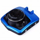 New Mini Car DVR Camera full High Definition 1080P Recorder G Sensor Night Vision Dashboard Camera blue