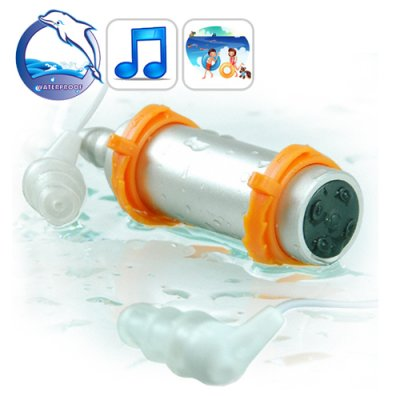 4GB Waterproof + Swimming MP3 Player