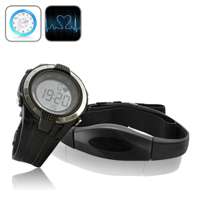 Sport Watch with Heart Rate Monitor