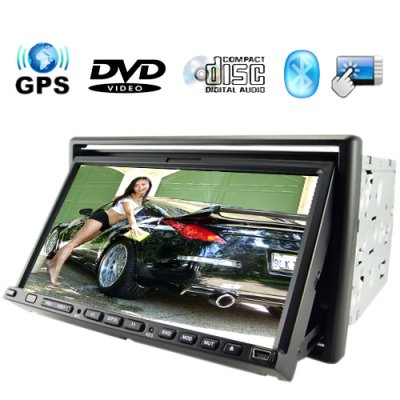 Stargate 7 Inch Car DVD Player