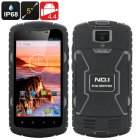 No1 X1 Rugged Smartphone (Black)