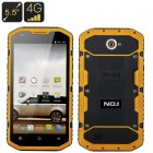 No 1 X6800 IP68 Smartphone (Yellow)