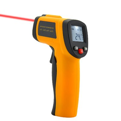 Non Contact Thermometer w/ Laser Targetting