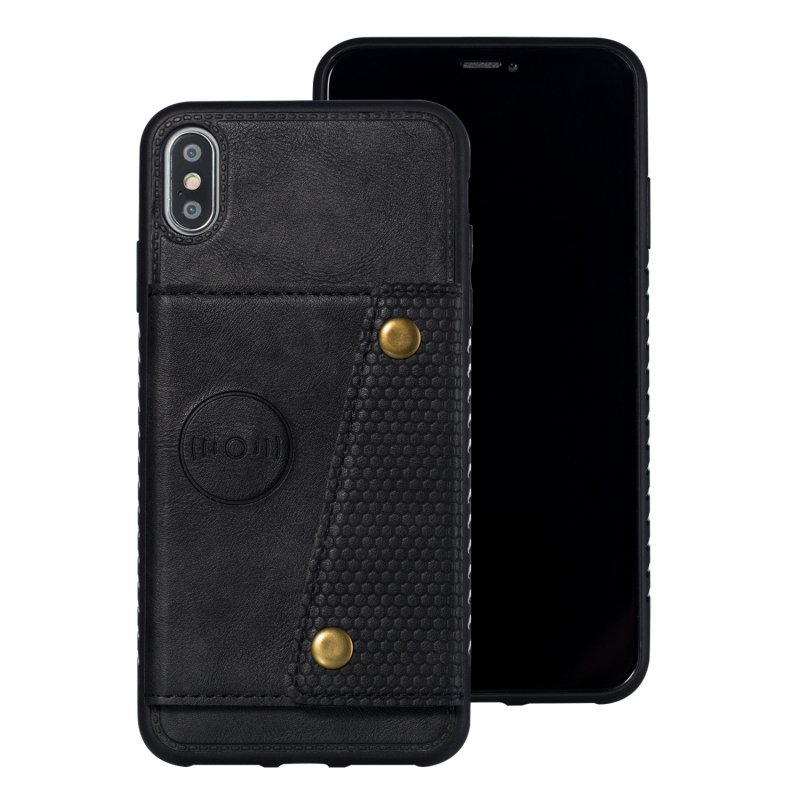 Card hold bracket shell for iphone XS MAX