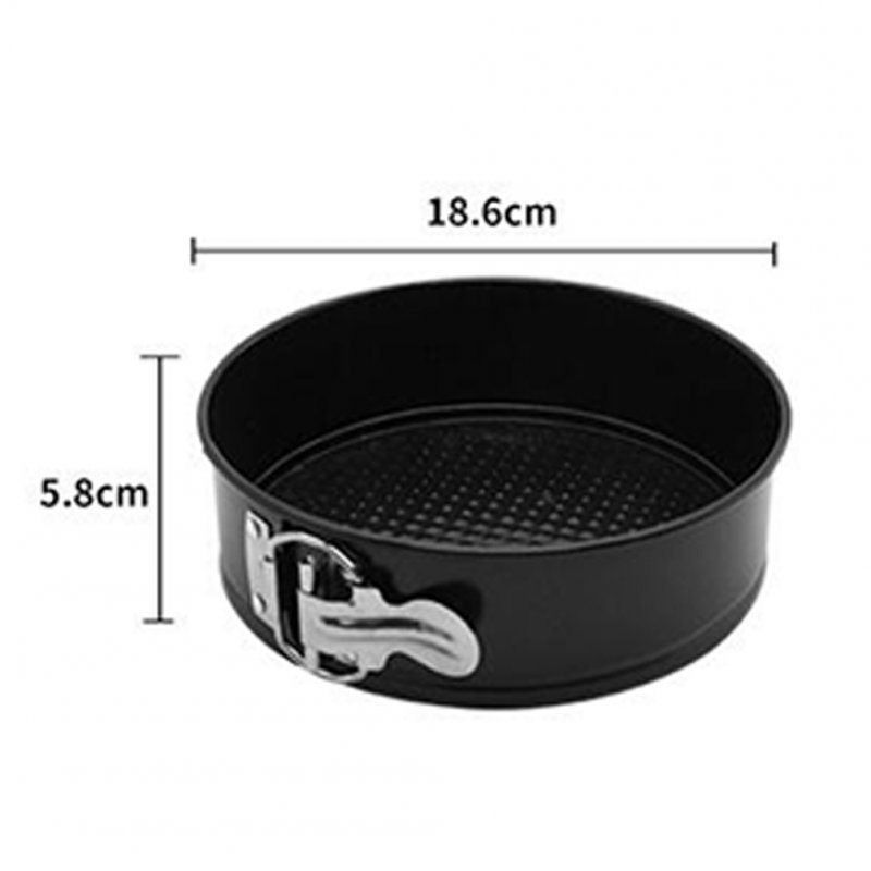 Non-stick Carbon Steel Pan Pumpkin Bakeware Cake Baking Molds Kitchen Accessories 7 inch round (boxed)