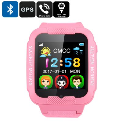 Kids GPS Watch (Pink)