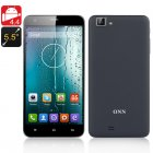 ONN V9 Quad Core 1 3 GHz Smartphone with Android 4 4 OS  1GB RAM  4GB Memory  Dual SIM  8MP Rear Camera and 32GB SD Card Slot