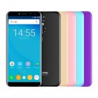 OUKITEL C8 5 5 Inch MT6580A Android 7 0 3G Smart Phone 5 5 blue