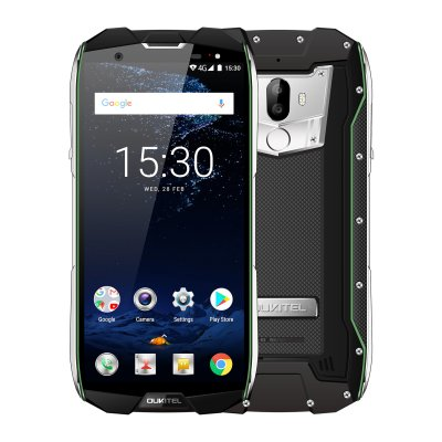 OUKITEL WP5000 5.7 Inch Smart Phone Green